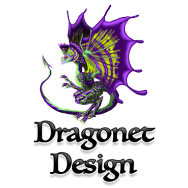Dragonet design, LLC. Logo