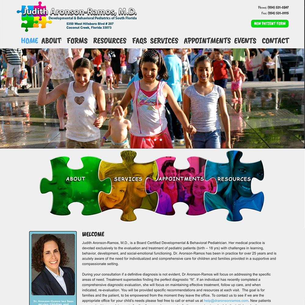 Dr Aronson Ramos MD Website