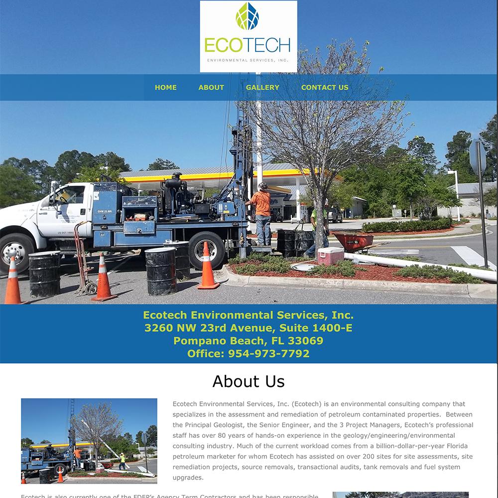 EcoTech Website