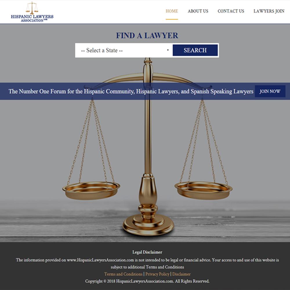 Hispanic Lawyers Association.com
