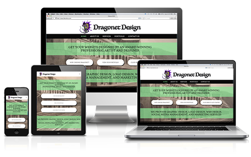 Dragonet Design LLC Web Design