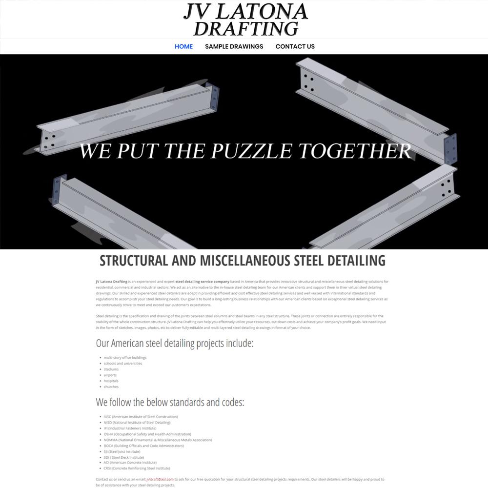 JV Latona Drafting Website