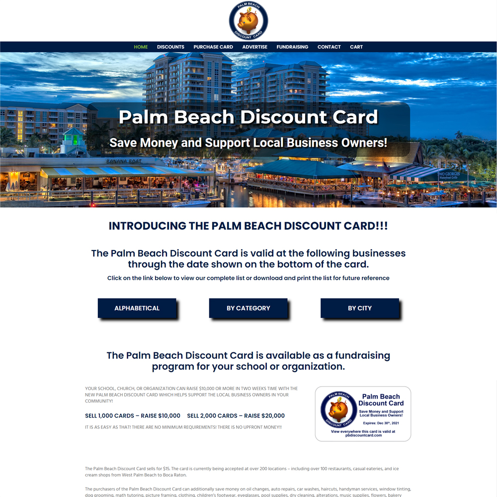 PB Discount Card