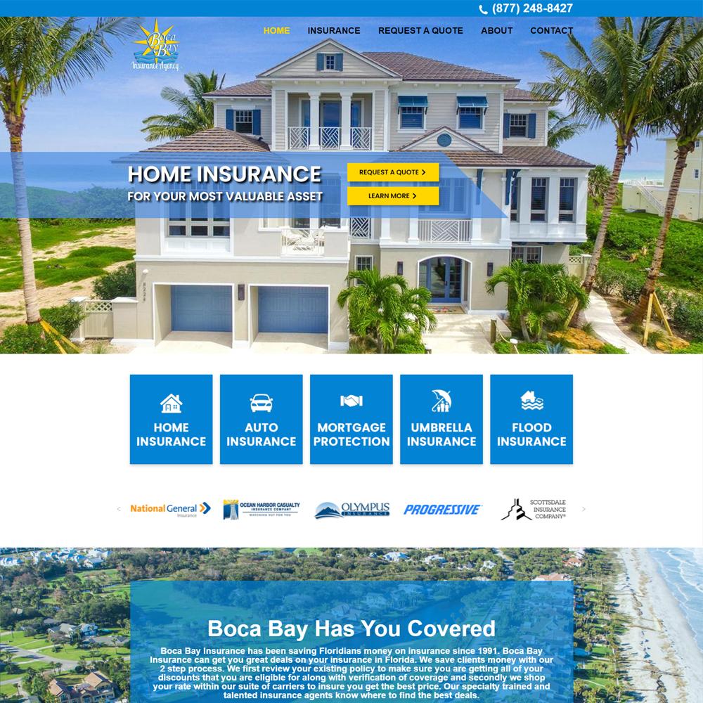Boca Bay Insurance Home Page