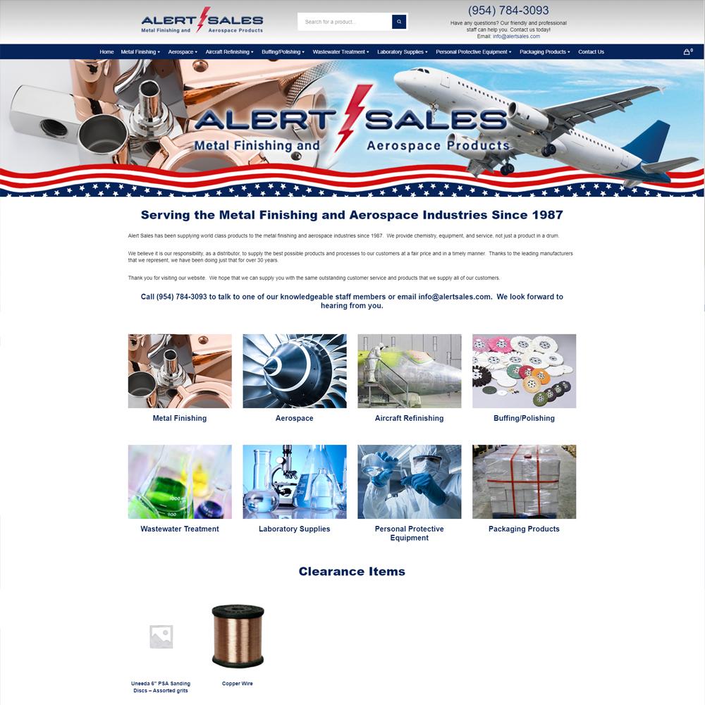 Alert Sales Website
