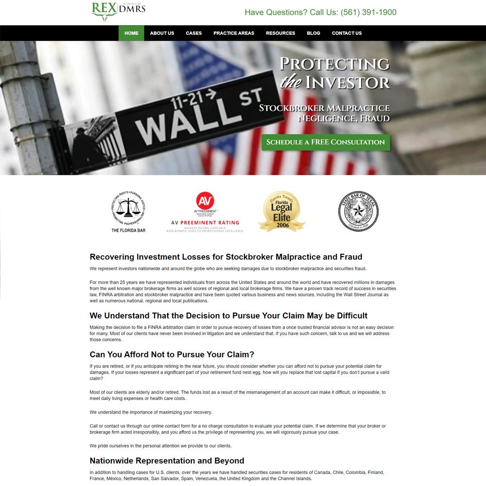 Rex Securities Law